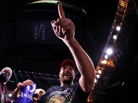 La reacción de Tyson Fury después que Wilder le negara el saludo