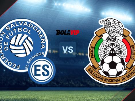VER AHORA | El Salvador vs. México | MINUTO A MINUTO por Eliminatorias Concacaf en la Jornada 6 del Octagonal Final