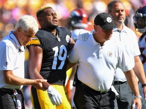 La peor noticia para Pittsburgh Steelers se la da JuJu Smith-Schuster