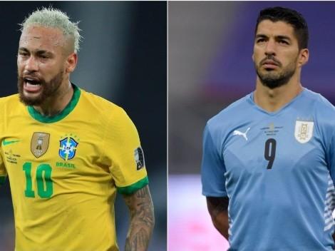 Brasil x Uruguai: saiba onde assistir AO VIVO à partida das Eliminatórias Sul-Americanas