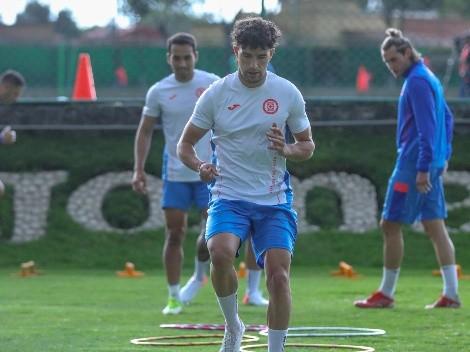 Cruz Azul vuelve a entrenar y ya prepara la J13 de Liga MX