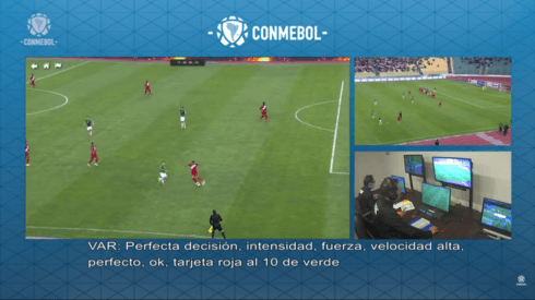 La CONMEBOL publicó los audios este lunes en su página y en Youtube.