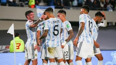 Argentina venció 3-0 a Uruguay el último domingo por eliminatorias.