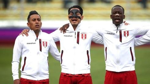 Gianluca Lapadula fue titular en el partido contra Bolivia en la Paz.