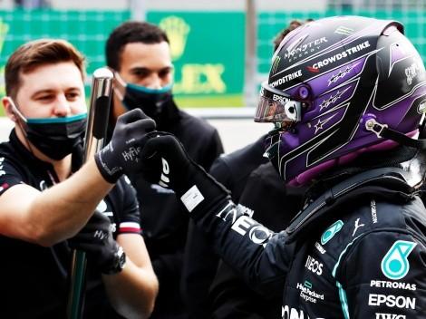 Lewis Hamilton coloca panos quentes em situação com equipe após último GP