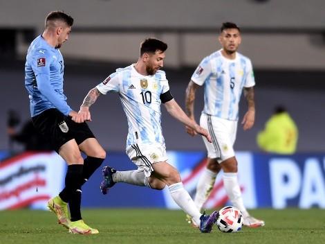 Dieron a conocer un audio del VAR durante el duelo de Argentina y Uruguay
