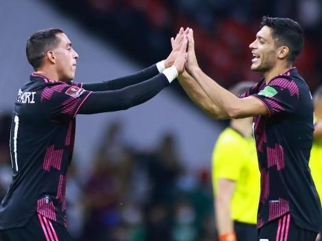 El intercambio de Raúl Jiménez y Funes Mori en Instagram por el gol del Mellizo