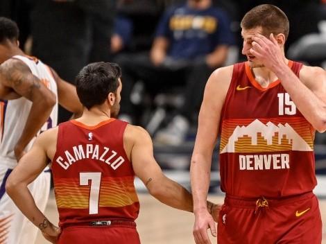 Nikola Jokic de líder, Facu Campazzo de bandera: El equipo de Denver Nuggets para la NBA 2021-22