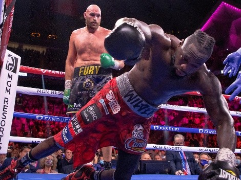 Tyson Fury cree que Deontay Wilder ya se retiró