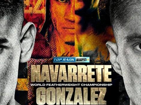 Emanuel Navarrete vs Joet González: Cartelera completa