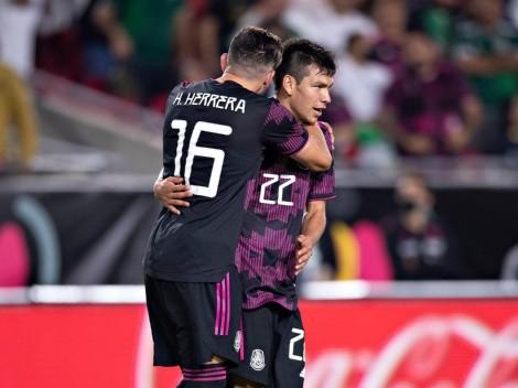 Chucky Lozano, Herrera y Moreno encabezan el once ideal de la CONCACAF