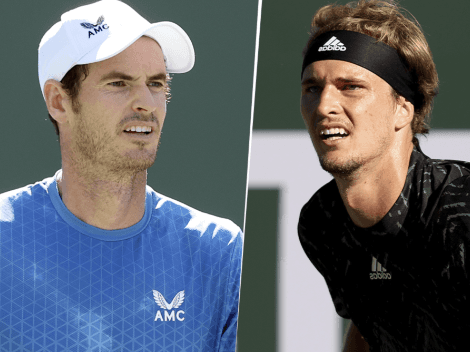 Qué canal transmite Andy Murray vs. Alexander Zverev por el Masters 1000 de Indian Wells