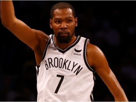 Kevin Durant, James Harden y... El equipo de Brooklyn Nets para la NBA 2021-22