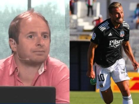 """""""Si Colo Colo sigue ganando, Santos va a jugar poco y nada"""""""