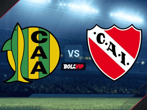 Cuándo juegan Aldosivi vs. Independiente por la fecha 16 de la Liga Profesional: horario, canales de TV y streaming