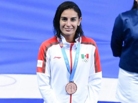 Paola Espinosa, medallista olímpica, participa en ¿Quién es la Máscara? y la eliminan rápido
