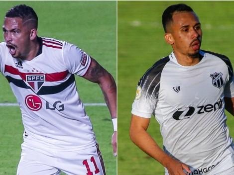 São Paulo x Ceará: saiba onde assistir ao vivo à partida do Campeonato Brasileiro
