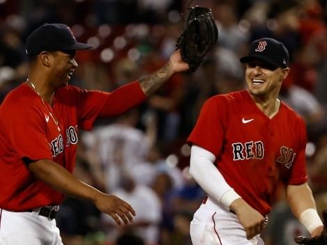 Estrella de los Boston Red Sox está disputando los playoffs de la MLB con una lesión