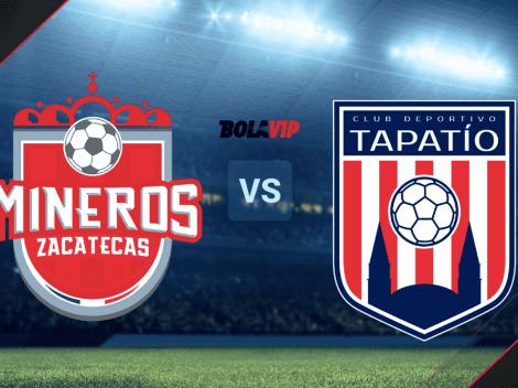 Qué canal transmite Mineros de Zacatecas vs. Deportivo Tapatío por la Liga de Expansión MX