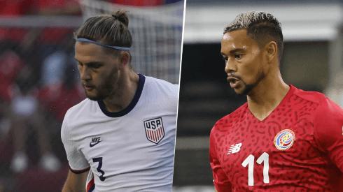 Estados Unidos vs. Costa Rica por las Eliminatorias (Getty Images)
