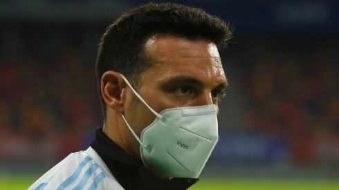 Argentina national team manager Lionel Scaloni.