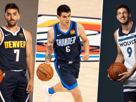 Campazzo, Deck y Bolmaro: ¿Algún argentino puede ganar esta temporada NBA?