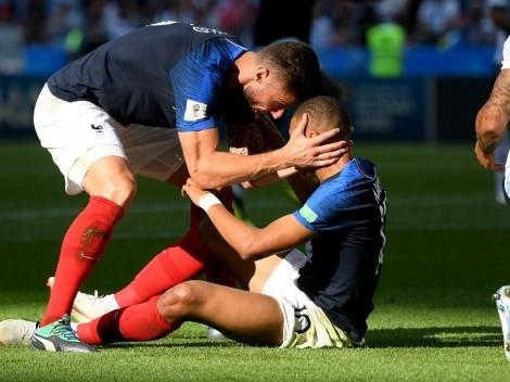"""Giroud: """"Tuve una conversación de adultos con Mbappé"""""""