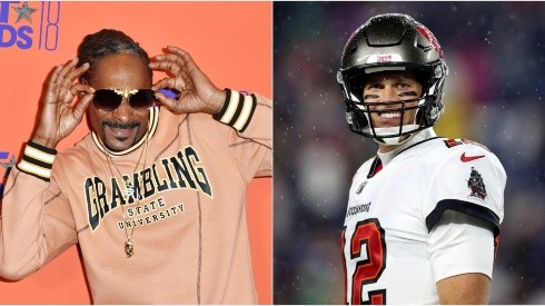 Snoop Dogg (left) & Tom Brady