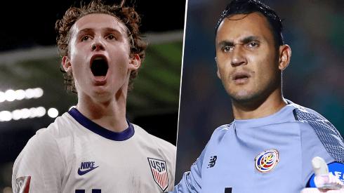 Estados Unidos y Costa Rica se enfrentan por las Eliminatorias Concacaf.
