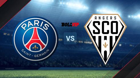 París Saint-Germain vs. Angers por la Ligue 1 de Francia.
