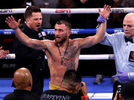 Vasyl Lomachenko tiene una pelea confirmada antes de fin de año