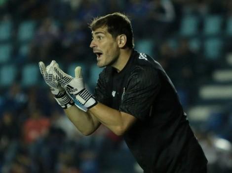 Iker Casillas presume su amistad con los mexicanos Layún, Herrera y 'Tecatito'
