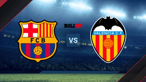FC Barcelona vs. Valencia CF por La Liga de España.