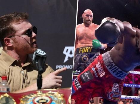 Canelo Álvarez explicó por que Tyson Fury pudo volver a derrotar a Wilder