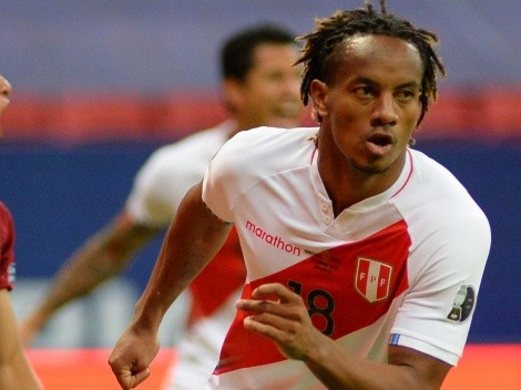 Why isn't Andre Carrillo playing for Peru against Argentina?