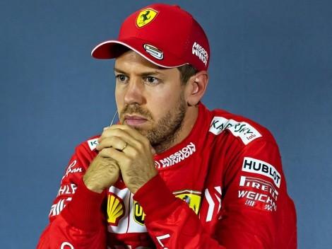 Checo Pérez tiembla tras la declaración de Sebastian Vettel