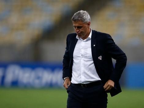 São Paulo anuncia saída do técnico Hernán Crespo