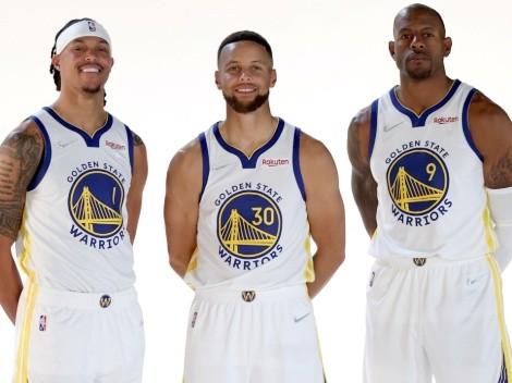 El equipo de Golden State Warriors para la NBA 2021-22