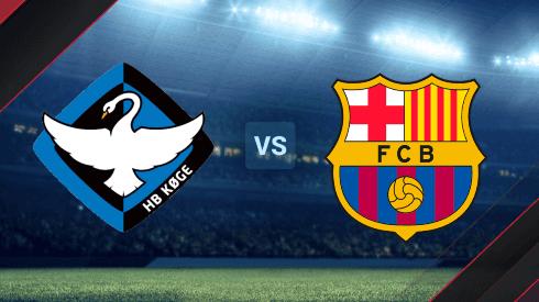 HB Køge y Barcelona se enfrentan por la UEFA Women's Champions League.