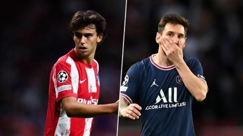 Joao Félix se ve como el posible heredero de Messi.