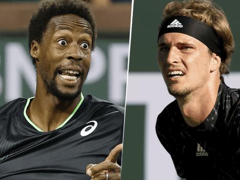 Qué canal transmite Gael Monfils vs. Alexander Zverev por el Masters 1000 de Indian Wells
