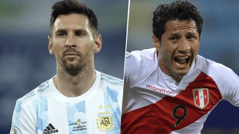 Argentina vs. Perú por las Eliminatorias Sudamericanas. (Getty Images)