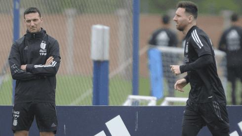 No sabe qué equipo poner: Lionel Scaloni cuenta con dudas para enfrentar a la Selección Peruana