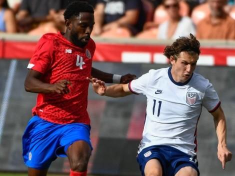 Costa Rica sorprende a Estados Unidos con un gol tempranero de Keysher Fuller