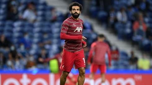 Mohamed Salah en Liverpool.