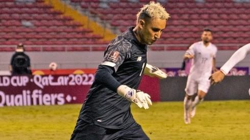 Keylor Navas con Costa Rica.