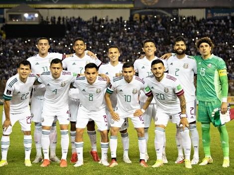 Calificaciones de los jugadores de México en el partido ante El Salvador