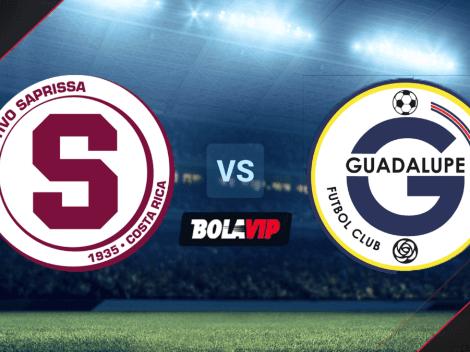 Cómo ver Saprissa vs. Guadalupe EN VIVO por la Liga Promerica de Costa Rica: hora y canal de TV   Apertura Jornada 15