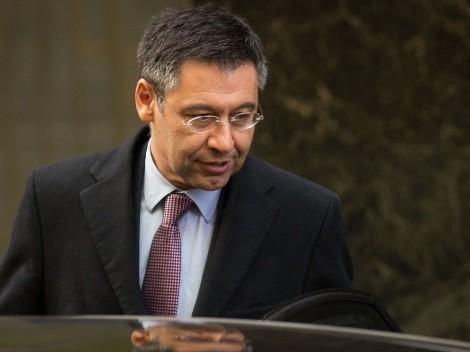Bartomeu se defiende y justifica su gestión en Barcelona