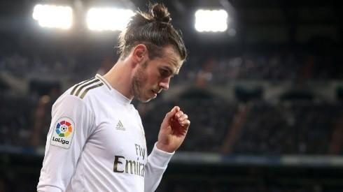 Gareth Bale en un encuentro con Real Madrid.